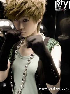 个性美女手机图片 明星李宇春